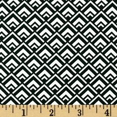 $8.06/yd From Michael Miller, this cotton print is perfect for quilting, apparel and home decor accents.  Colors include black and white.