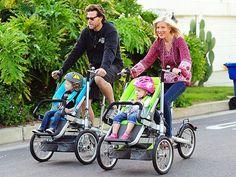 Mamme, in estate munitevi di passeggino bike che vi mantiene in forma e farete divertire tantissimo il vostro bimbo. #fitness #salute #bike
