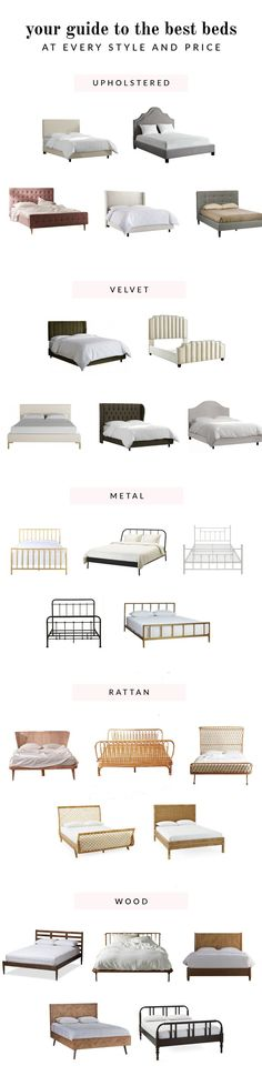 Your Guide To The Best Beds At Every Price & Style   Glitter Guide