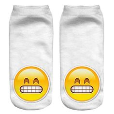 CHIC Funny Sock Emoji Funny Cartoon Animal For Woman Man Boy Girl Free Size *** Check out this great product.