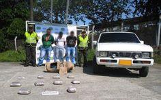 Policía Risaralda captura 3 personas e incauta 5 kilos de marihuana.