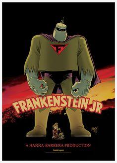 frankenstein-jr-ccxp-poster-braga