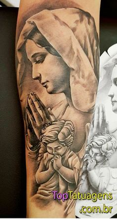 50 Tatuagens Religiosas e Incríveis para se inspirar Mayan Tattoos, New Tattoos, Body Art Tattoos, Sleeve Tattoos, Christ Tattoo, Jesus Tattoo, Drum Tattoo, Arm Band Tattoo, Tattoo Oma