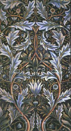 I love nearly everything by William Morris