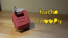 Hucha SNOOPY de goma eva -  fomi - foamy Snoopy alcancia