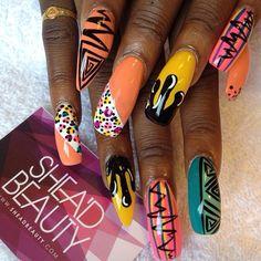Nail Art Stiletto nails