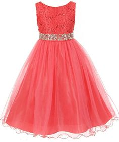 AkiDress Sequin Lace Top with Tulle Bottom Flower Dress for Little Girl Coral 4 Aki_Dress http://www.amazon.com/dp/B01774J1XS/ref=cm_sw_r_pi_dp_uIAvwb1JH3NC3