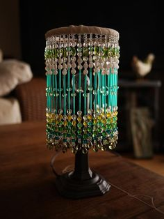 Lamp Shades Near Me Entrancing Color Me Glamorous Tiffany Inspried Diy Beaded Lamp Shade Inspiration Design