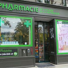 La Pharmacie de la Place de la République 5 Place de la République  75003 PARIS