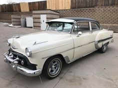 CHEVROLET BEL AIR SEDAN 2 DOOR 1953