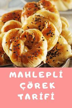 Turkish Kitchen, Bagel, Food And Drink, Pasta, Bread, Cookies, Rezepte, Brot, Breads