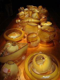Dale Chihuly Exhibit at de Young Museum, SF by shollingsworth, via Flickr