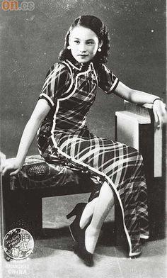 1930年代的上海女星陳燕燕經常穿着旗袍。(香港歷史博物館藏品)