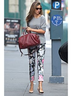 @Tasnia Khan I am about to buy myself a pair of floral pants. MK's are gorgeous!!