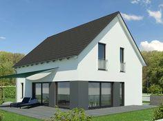 designhaus mit flachdach haus evolution 154 v9 bien zenker einfamilienhaus im bauhausstil. Black Bedroom Furniture Sets. Home Design Ideas