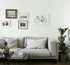 Nockeby grey sofa