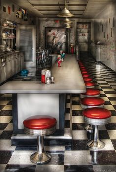 Diner - - The Ice Cream Parlor Ornament so please read the important details before your purchasing anyway here is the best buyHow toHere a great deal. Retro 50, Vintage Ice Cream, Ice Cream Parlor, Hdr Photography, Soda Fountain, Ornaments Design, Foto Art, Art Moderne, Parlour