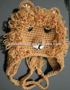 lion hat - made to order