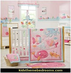 Under The Sea Baby Crib Bedding Set