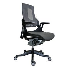 Ergonomic office chair - Pin it :-) Follow us :-)) AzOfficechairs.com is your Officechair Gallery ;) CLICK IMAGE TWICE for Pricing and Info :) SEE A LARGER SELECTION of  ergonomic office chair at http://azofficechairs.com/category/office-chair-categories/ergonomic-office-chair/ - office, office chair, home office chair - Wau Mesh Ergonomic Chair Charcoal Mesh Seat Back/Black Frame « AZofficechairs.com