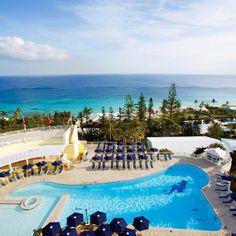 13 Outrageously Romantic Beach Getaways for Valentine's Day: Elbow Beach Resort, Elbow Beach, Bermuda. Coastalliving.com