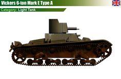 Vickers 6-ton Type A Light Tank