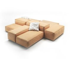Sofa Living Divani Extrasoft design Piero Lissoni | Sofa ...
