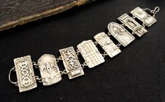 Petite Door Bracelet by cassioppea on Etsy // Christi Anderson Elemental Adornments