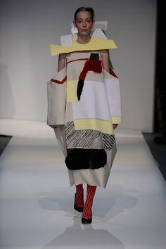 London College of Fashion BA fashion show 2015