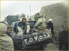 ODA 574 of the 5th Special Forces Group in Tarin Kowt, Afghanistan, November 30th 2001.