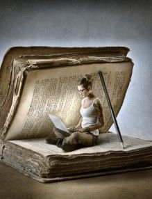 Arte do saber I Love Books, Books To Read, My Books, Reading Art, Reading Books, Book Sculpture, World Of Books, Surreal Art, Altered Books