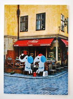 stockholm7 artist, Ingela P Arrhenius