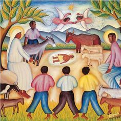 Nativity - Unknown Haitian artist