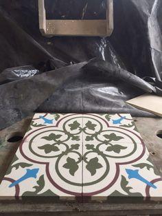 Pastine di cemento #Grandinetti, finitura grezza