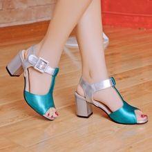 Limitado de Tiempo 2016 Señoras de la manera Zapatos de Cuña Zapatos de Tallas grandes Mujer Sandalias Sapato Feminino Verano Estilo Chaussure Femme T508(China (Mainland))