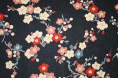 Japanese Cherry Blossom fabric