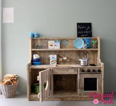 Kinderkeuken Nina van steigerhout