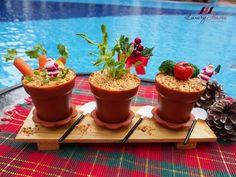 Christmas Potted Plants Potato Salad Potluck Recipe