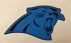 Hey, I found this really awesome Etsy listing at https://www.etsy.com/listing/262072585/carolina-panthers-decal