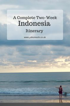 A Complete Two-Week Indonesia Itinerary  Including - Bali, Semarang, Gili islands, Borneo.   www.yokomeshi.co.uk