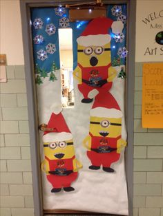 dorm door decorations christmas for - Christmas Dorm Door Decorations