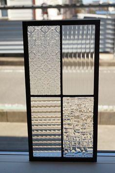 シンプルなデザイン。。ステンドグラス 四つの長方形 4種のクリア2 20cm×40cm Window Grill Design, Door Design, House Design, Partition Design, Glass Partition, Glass Door, Glass Art, Glass Kitchen Cabinets, Industrial Design Furniture