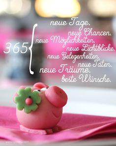 365 neue Tage, Taten, Gelegenheiten, Träume, Wünsche | waseigenes.com