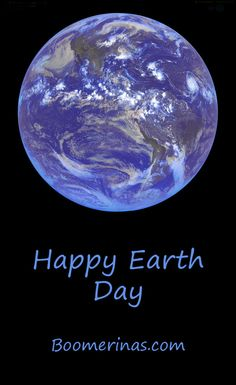 Happy Earth Day (April 22). Be thankful you were born on the best planet in the galaxy! Now, go plant a tree or something. Cheers, Tina (photo is CREATIVE COMMONS from US Government)