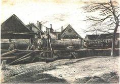Factory - Vincent van Gogh