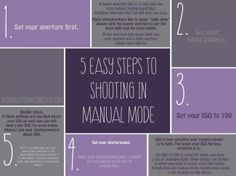 5 Easy Steps to Shooting in Manual Mode » Photography Awesomesauce