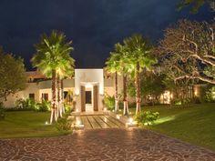 Evening at Barranca.  Luxury villa vacation rentals are available through www.casabayvillas.com