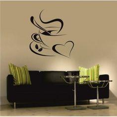 Coffee with love Coffee, Home Decor, Kaffee, Decoration Home, Room Decor, Cup Of Coffee, Interior Decorating