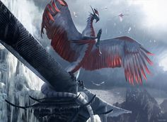 Dragonlord Ojutai art by Chase Stone