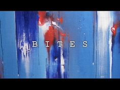 BITES II 2nd abstract painting - YouTube